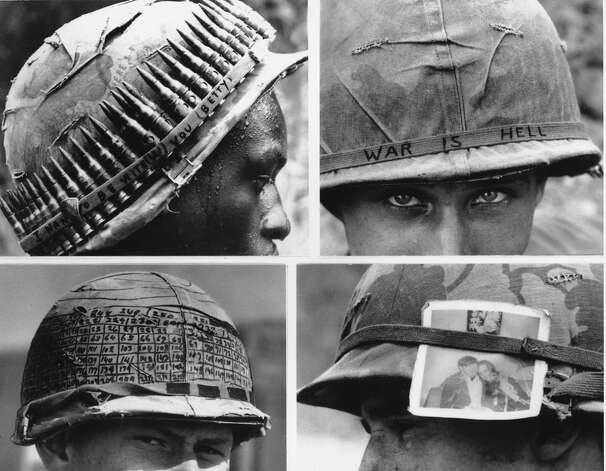 Veteran's Day —which began as Armistice Day in 1918, celebrating the end of World War I — is America's way of honoring the men and women who have served in defense of the country in decades of war. Here are some iconic images of the American GI. Photo: ASSOCIATED PRESS / AP1967