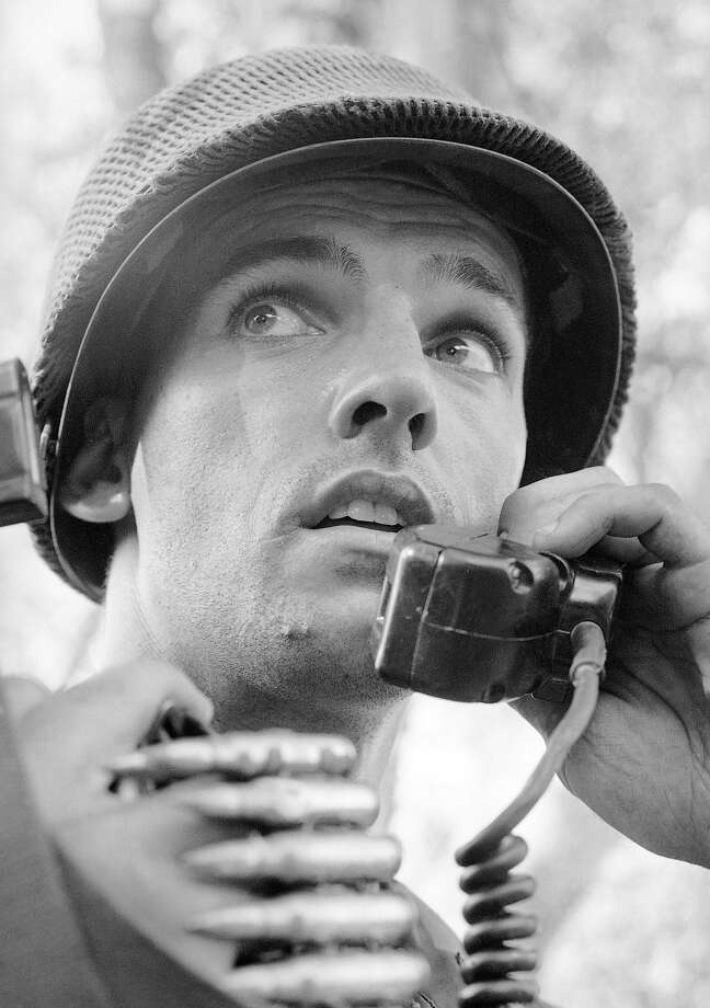 U.S. soldier communicating during the Vietnam War in Saigon in an undated photo. Photo: Eddie Adams, AP / AP1968
