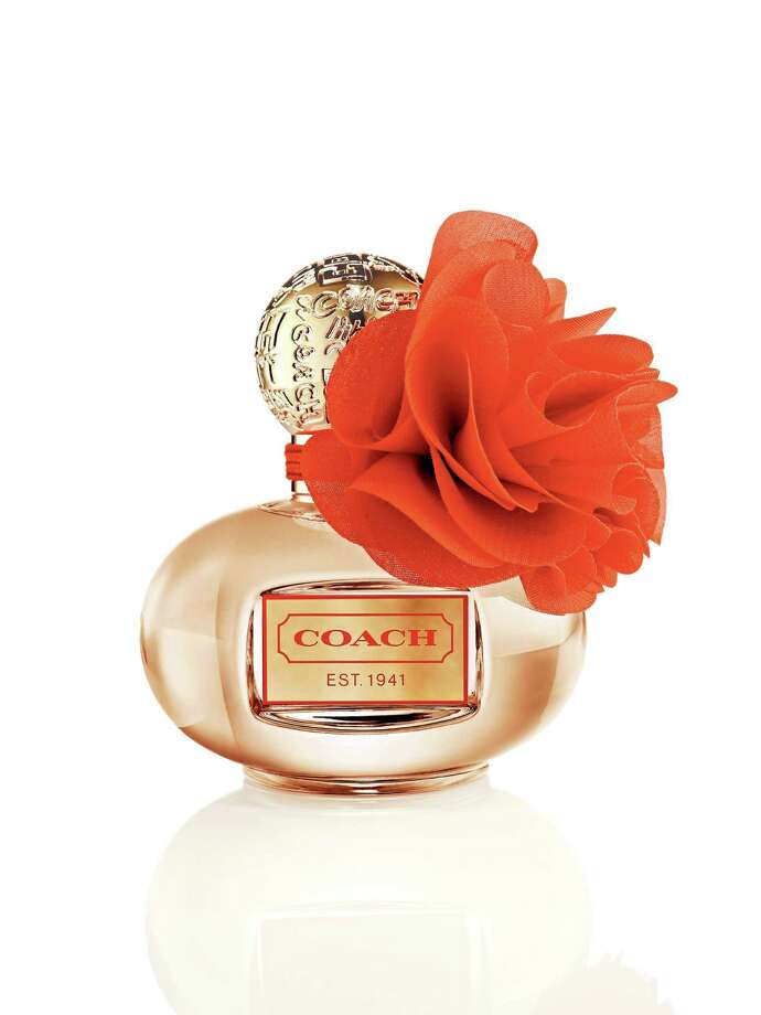 Coach Poppy Blossom is a new limited edition fragrance from Coach. Photo: Coach