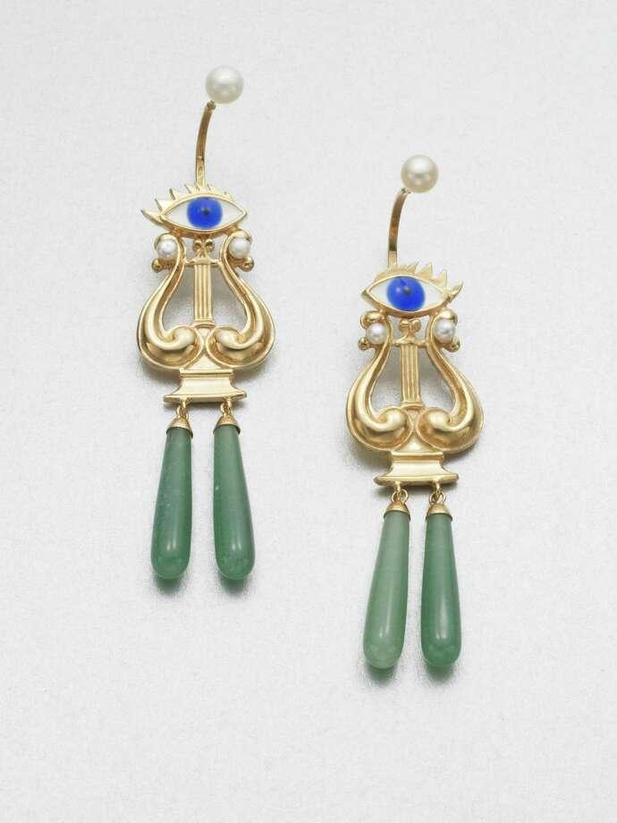 Delfina Delettrez Eyes On Me earrings, $970 at www.saksfifthavenue.com