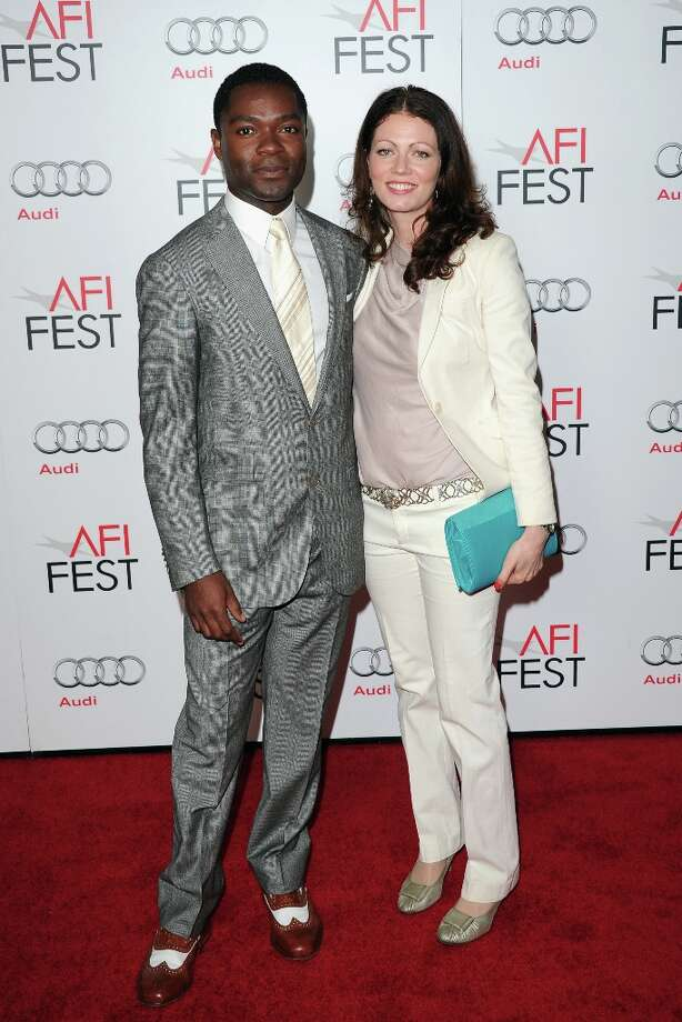 "Actor David Oyelowo and Jessica Oyelowo arrive at the ""Lincoln"" premiere during AFI Fest 2012 presented by Audi at Grauman's Chinese Theatre on November 8, 2012 in Hollywood, California. Photo: Jason Merritt, Getty Images / 2012 Getty Images"