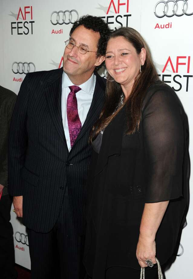 "Writer Tony Kushner (L) and actress Camryn Manheim arrive at the ""Lincoln"" premiere during AFI Fest 2012 presented by Audi at Grauman's Chinese Theatre on November 8, 2012 in Hollywood, California. Photo: Kevin Winter, Getty Images For AFI / 2012 Getty Images"
