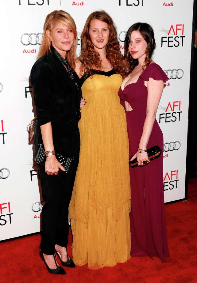 "Kate Capshaw, Destry Allyn Spielberg and Sasha Spielberg arrive at the ""Lincoln"" premiere at AFI Fest at Grauman's Chinese Theatre on Thursday Nov. 8, 2012 in Hollywood, California. Photo: Todd Williamson, Associated Press / Invision"