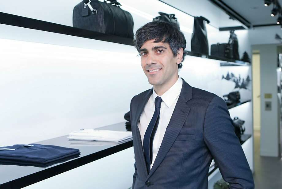 The reviews are in, and Jeremy Stoppelman, CEO of Yelp, is rocking his Dior Homme skinny suit, at a party for his birthday and Details magazine at the Dior Homme boutique on Nov. 8 in San Francisco. Birthday wishes should be extended Nov. 10, when he turns 35. Photo: Drew Altizer Photography