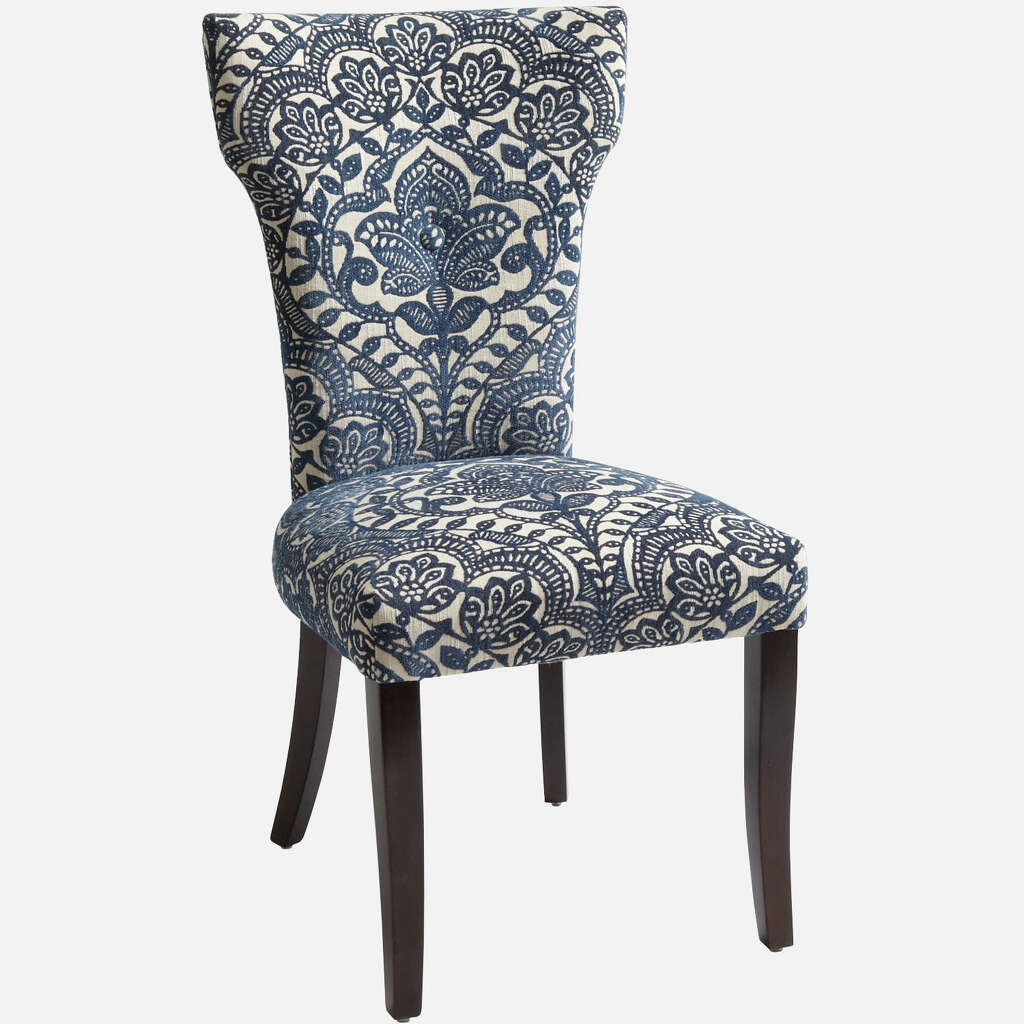Carmilla Dining Chair Blue Damask 16995 Pier 1 Imports Photo