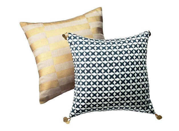 Nate Berkus Collection at Target  Indigo Star Ikat Pillow - $24.99 Photo: Target