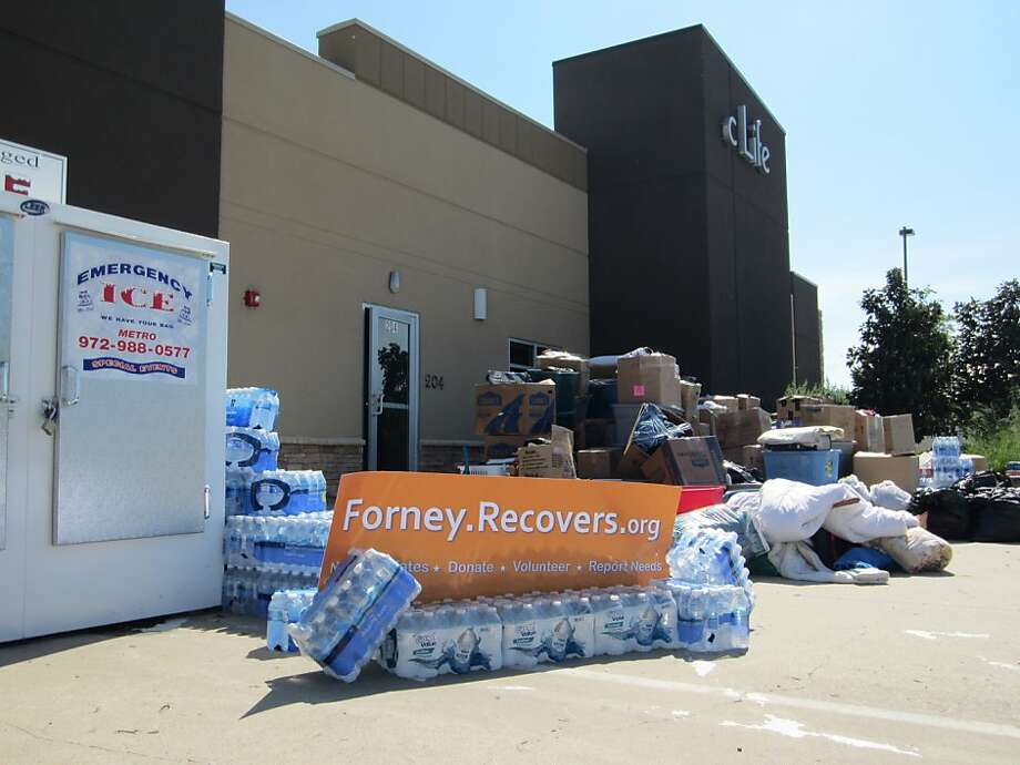 Texas, where a tornado hit last spring, is among the first places where the Recovers website helped coordinate volunteers and donations. Photo: Courtesy Of Recovers.org, Recovers.org