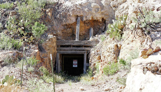 A view of an old entrance to the silver mine on the Rio Grande Mining Co. Shafter Silver Mine site Oct. 19, 2012 in Shafter, Tx. Photo: Edward A. Ornelas, San Antonio Express-News / © 2012 San Antonio Express-News