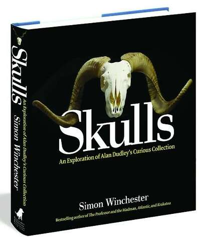 "Noted writer Simon Winchester explores the wild world of animal skulls in ""Skulls: An Exploration of Alan Dudley's Curious Collection."" Photo: Courtesy Black Dog & Leventhal P"
