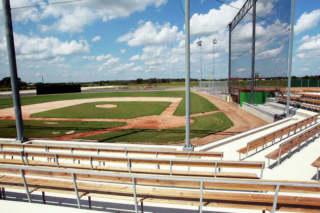 Earl Studdard's baseball complex near Zorn aims to become a destination not only for the 1,200 select baseball teams in the Austin and San Antonio areas but for national clubs of all ages, including college. Photo: Tom Reel, San Antonio Express-News / San Antonio Express-News