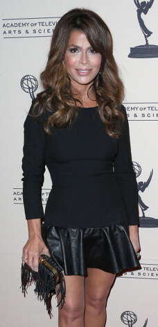 Paula Abdul turned 50 on June 19. She's pictured on Nov. 1, 2012.  Photo: Frederick M. Brown, Getty Images / 2012 Getty Images