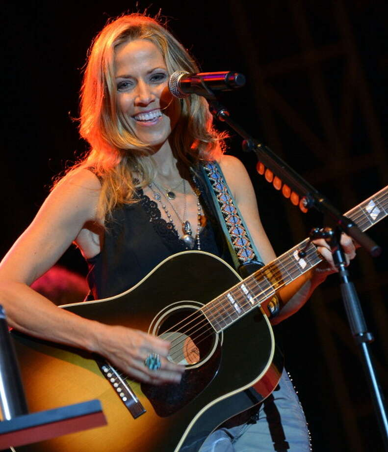Still rocking at 50: Sheryl Crow at the BamaJam festival on June 16, 2012.  Photo: Rick Diamond, Getty Images / 2012 Getty Images
