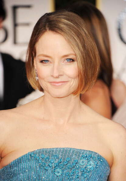 Jodie Foster, at age 49, at the Golden Globes in January of this year.