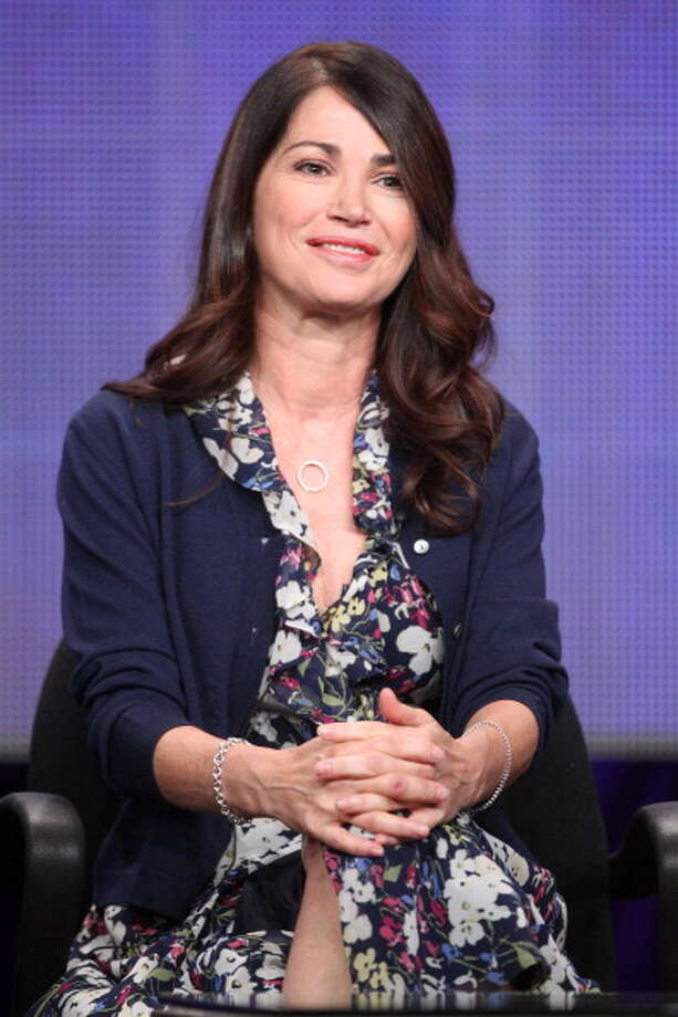 "Kim Delaney in 2011, speaking at an event for ""Finding a Family.""  Photo: Frederick M. Brown, Getty Images / 2011 Getty Images"
