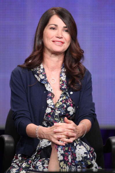 Kim Delaney in 2011, speaking at an event for