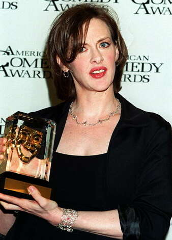 "Joan Cusack in 2000, when she got a American Comedy Award for her work in ""Runaway Bride.""  Photo: LUCY NICHOLSON, Getty Images / AFP"