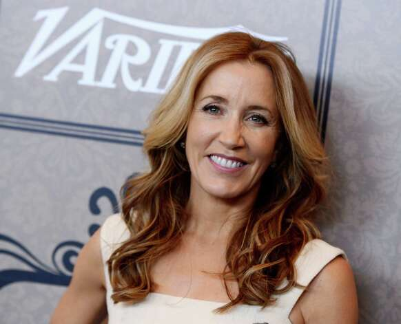 Felicity Huffman on Oct. 5, 2012. She'll turn 50 on Dec. 9.  Photo: Kevin Winter, Getty Images / 2012 Getty Images