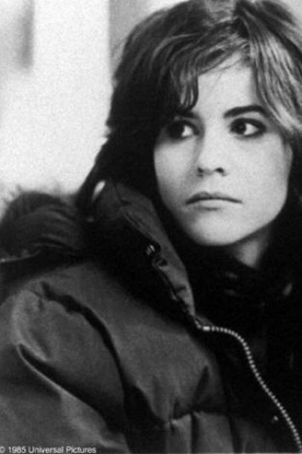 "Ally Sheedywas an icon of the '80s, pictured in ""The Breakfast Club,"" when she was 22.  Photo: File"