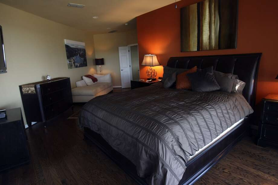 Masterbedroom Jimmy Franklin's home.  photographed Tuesday Nov. 6, 2012. (San Antonio Express-News)