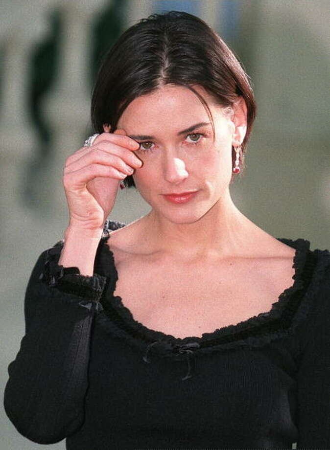 Demi Moore in 1997 in Madrid.  Photo: DOMINIQUE FAGET, Getty Images / AFP