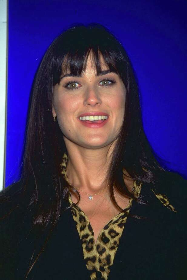 Demi Moore in the '90s, before she took a razor and ...  Photo: Getty Images / Getty Images North America