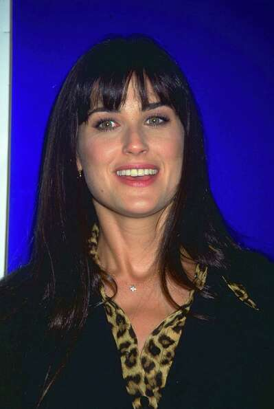 Demi Moore in the '90s, before she took a razor and ...