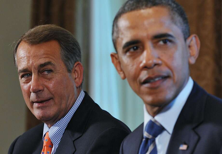Speaker John Boehner and President Obama. Photo: Mandel Ngan, AFP/Getty Images