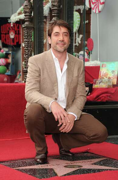 Actor Javier Bardem is honored with a star on the Hollywood Walk Of Fame held on November 8, 2012 in