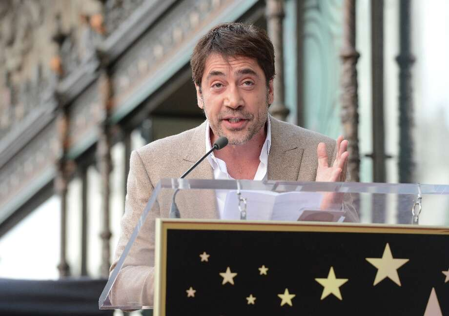Actor Javier Bardem is honored with a star on the Hollywood Walk Of Fame held on November 8, 2012 in Hollywood, California. Photo: Jason Merritt, Getty Images / 2012 Getty Images