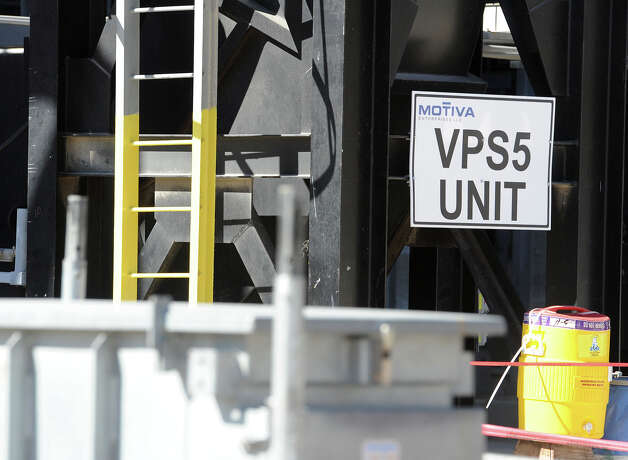 Motiva officials announced Friday that the recently inoperable VPS5 unit is expected to be fully repaired later this month with hopes of having the company's recent expansion project in full swing by spring.  Photo taken Friday, November 9, 2012 Guiseppe Barranco/The Enterprise Photo: Guiseppe Barranco, STAFF PHOTOGRAPHER / The Beaumont Enterprise