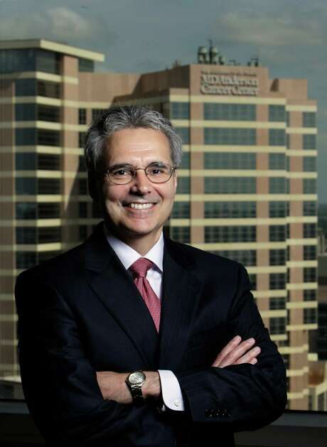 --FOR USE SUN. SEPT. 11--Dr. Ronald DePinho shown Monday, Aug. 15, 2011, in Houston will begin as M.D. Anderson's new president on Sept. 1. ( Melissa Phillip / Houston Chronicle ) Photo: Melissa Phillip, Staff / © 2011 Houston Chronicle
