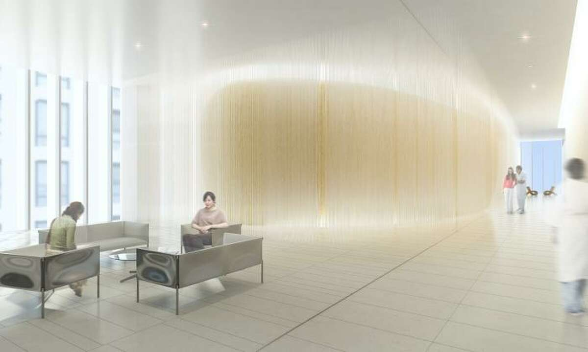 Design in Concept winner: Bucheon Clinic, Bucheon, South Korea, by NBBJ. The clinic caters to women's healthcare needs, specializing in childbirth. It's goal is to create a spa-like environment.