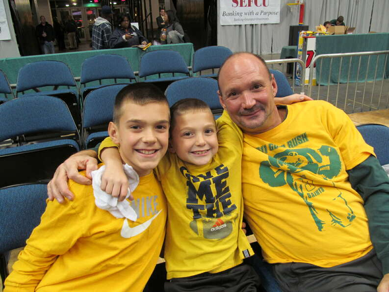 Were you Seen at the Siena basketball home opener on Friday, November 9, 2012 at the Times Union Cen