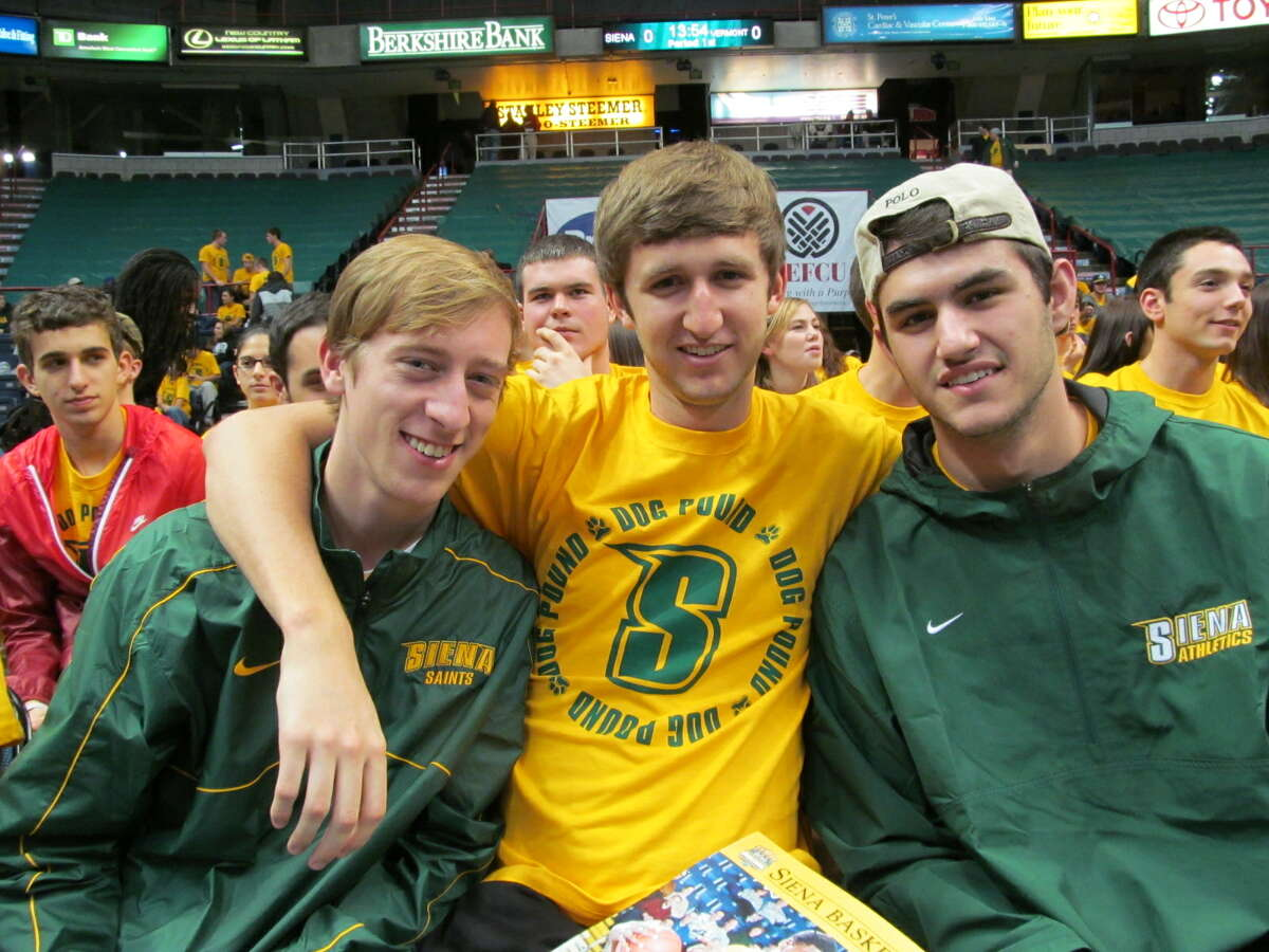 Were you Seen at the Siena basketball home opener on Friday, November 9, 2012 at the Times Union Center in Albany?