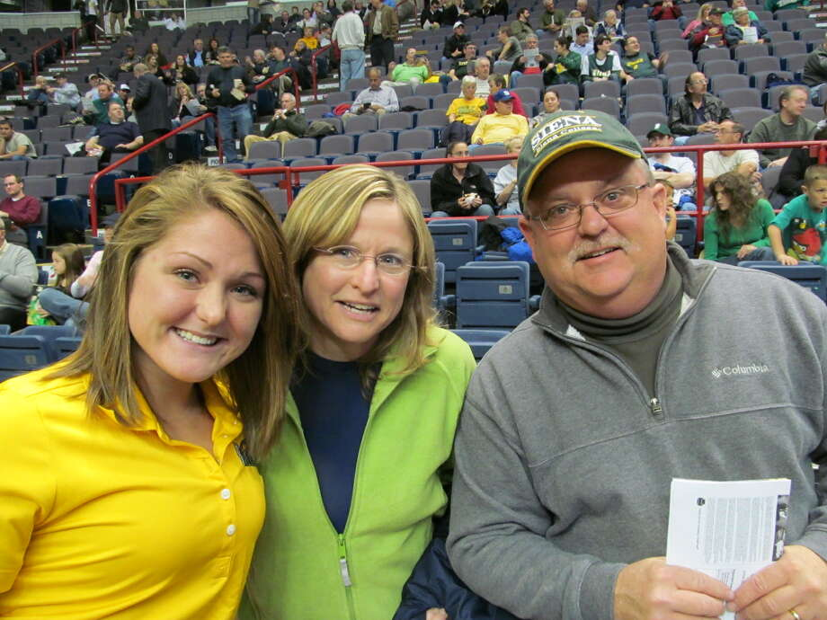 Were you Seen at the Siena basketball home opener on Friday, November 9, 2012 at the Times Union Center in Albany? Photo: Kristi Gustafson Barlette/Times Union