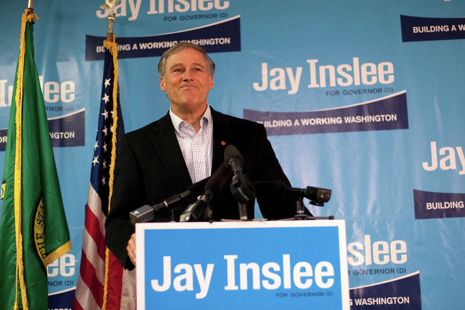 8. Gov: U.S. Rep. Jay Inslee is headed to Olympia, where he'll