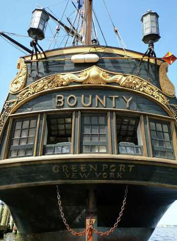 A replica of the historic ship HMS Bounty, is moored beside the U.S. Naval Academy in Annapolis, M.D. on June 17, 2012. Photo: Blake Sell, AP Photo/Blake Sell / ASSOCIATED PRESS