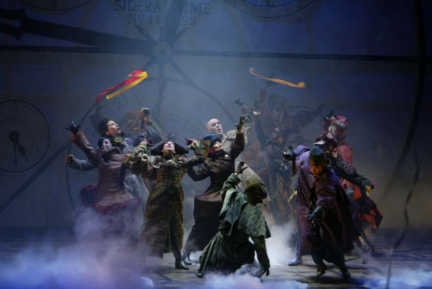 A scene from Wicked. (Joan Marcus)
