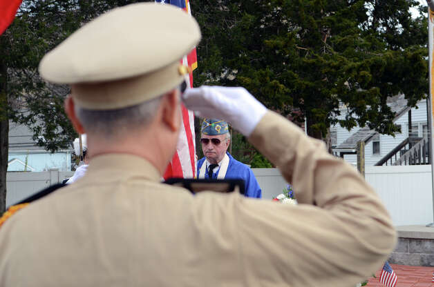 The third annual Veterans Day Mass and Ceremony at St. Margaret Shrine on Park Ave. in Bridgeport on Saturday, Nov. 10, 2012. Participants in the ceremony included South Vietnamese Military Veterans, the Greater Bridgeport Detachment of the Marine Corps League, Port 5 Naval Veterans, and the Catholic War Veterans Post 1466. Photo: Amy Mortensen / Connecticut Post Freelance