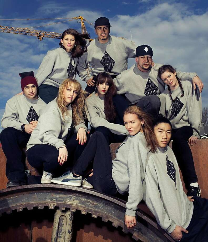 Norway's dEEp doWN dopEiZM is among the performers at the International Hip Hop DanceFest at the Palace of Fine Arts Theatre. Photo: Ingrid Styrkestad