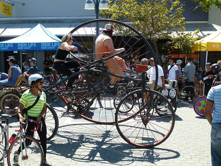 Jack London Square, the site of August's Pedalfest, will be the setting for the East Bay Bicycle Coalition's 40th anniversary celebration, Biketopia, on Friday. Photo: East Bay Bicycle Coalition