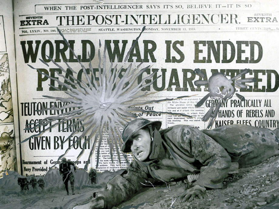 This picture was included is the P-I's folder of World War I images. Photo: Seattlepi.com File