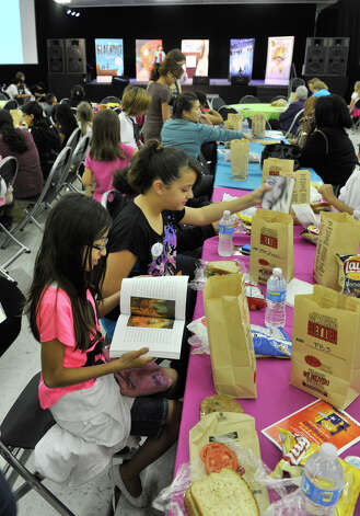 9th annual San Antonio Express-News Children's Book Celebration Saturday at the Tripoint YMCA. Photo: Express-News