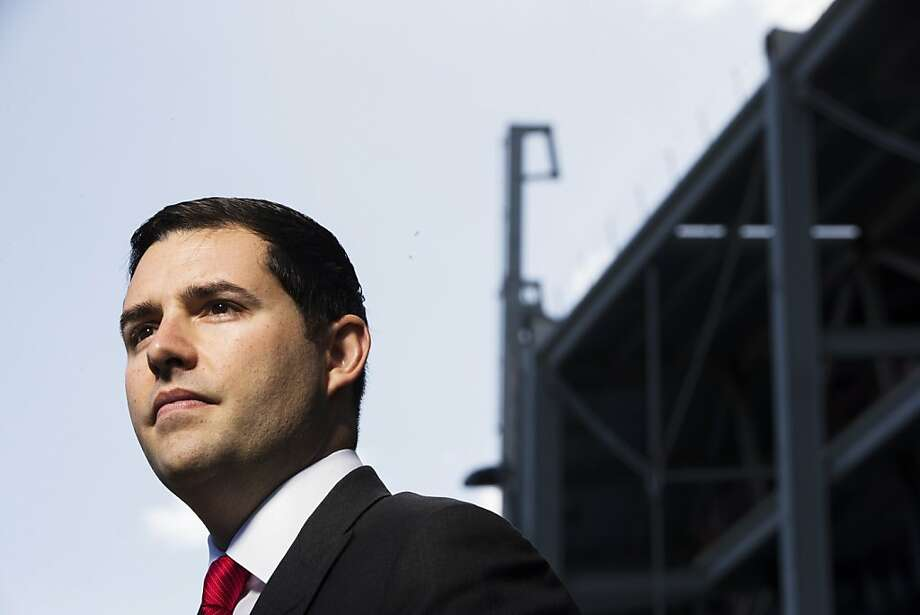 San Francisco 49ers President & Chief Executive Jed York stands for a portrait outside the new 49ers stadium, currently under construction, in Santa Clara, Calif. on  Thursday, Nov. 8, 2012. Photo: Stephen Lam, Special To The Chronicle