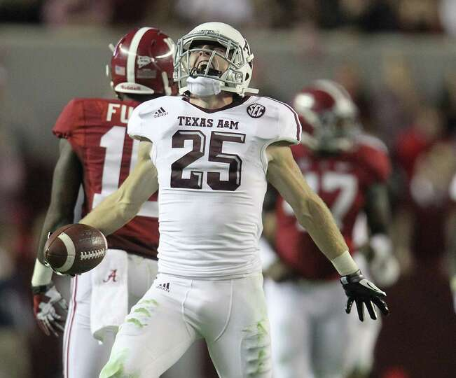Texas A&M receiver Ryan Swope's fourth-quarter catch gave the Aggies something to shout about on the