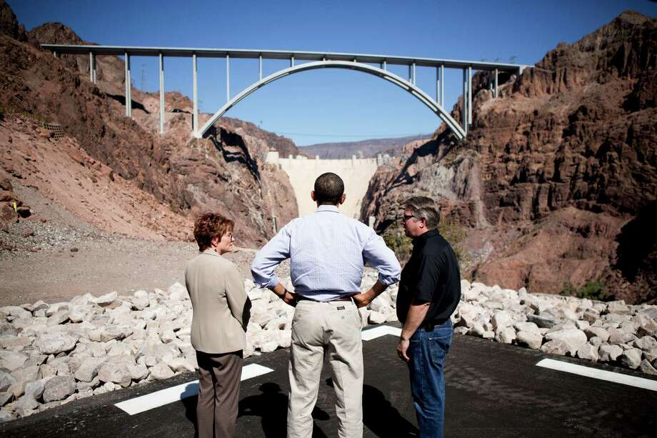 Bored with making preparations for the first debate, President Barack Obama took a break and visited Hoover Dam. The president's lack of preparation was a major mistake, both campaigns concluded. Photo: DAMON WINTER, STF / NYTNS