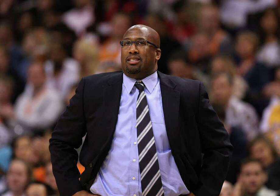 FILE - NOVEMBER 9: According to reports the Los Angeles Lakers have fired head coach Mike Brown after leading the Lakers 1-4 to start the season.  PHOENIX, AZ - FEBRUARY 19:  Head coach Mike Brown of the Los Angeles Lakers reacts during the NBA game agaisnt the Phoenix Suns at US Airways Center on February 19, 2012 in Phoenix, Arizona. The Suns defeated the Lakers 102-90. NOTE TO USER: User expressly acknowledges and agrees that, by downloading and or using this photograph, User is consenting to the terms and conditions of the Getty Images License Agreement.  (Photo by Christian Petersen/Getty Images) Photo: Christian Petersen