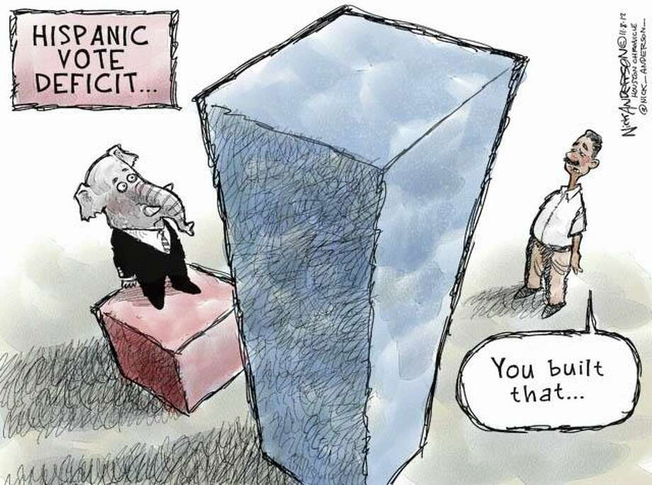 The deficit (Nick Anderson / Houston Chronicle)