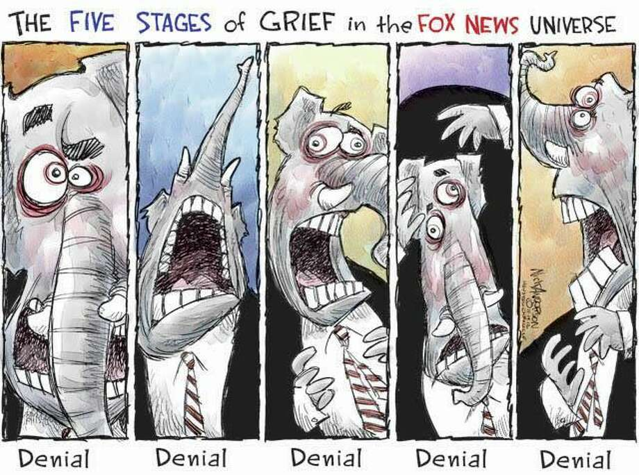 Five stages of grief (Nick Anderson / Houston Chronicle)