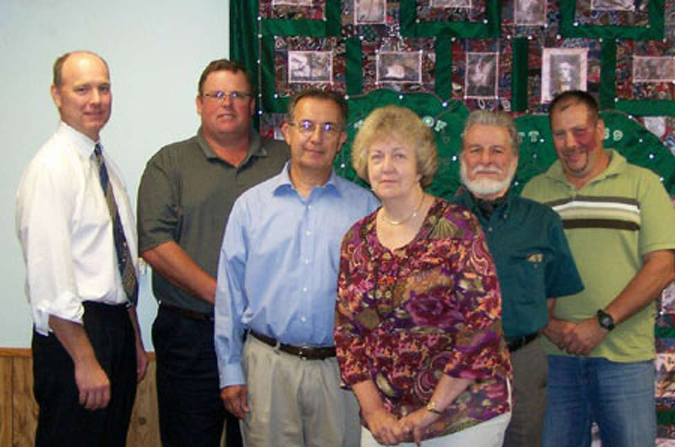 Attorney Tal Rappelyea,Steve Jacobs, James Pellitteri, Supervisor Carol Muth, Michael McCrary, William Trach in a photo for the Town of Jewett in Greene County. (Town of Jewett)